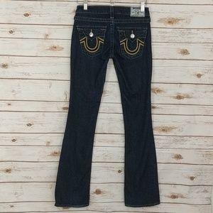 True Religion Blue Jeans Size 26 Bootcut
